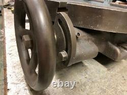 Heavy Duty 16 / 400mm Rotary Table, Horizontal, 360 Degrees Turntable, 4 Slots