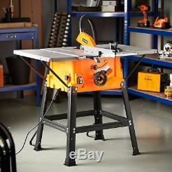 Heavy Duty 1800w 10' 250mm Table Saw With 5500rpm Underframe