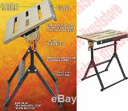 Heavy Duty Adjustable Angle and Fence Steel Surface Welding Welder Table