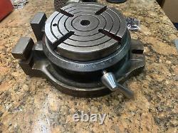 Heavy Duty Compact Cen-Tech Shars Rotary Table 6 Indexing Dividing Head N491