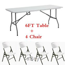 Heavy Duty Folding Trestle Table Camping Garden BBQ Party Banquets or Chair UK