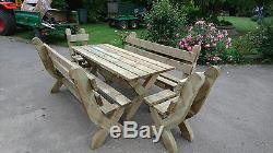 Heavy Duty Garden Table Set