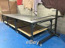 Heavy Duty Hobby Table Custom Made 1500mm X 1500 X 900mm Plus Steel Draw