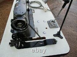 Heavy Duty Industrial Singer 291u1 Sewing Machine & Table