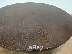 Heavy Duty Large Chunky 6 Seat Restaurant Dining Table 1500mm Round Pub Bar