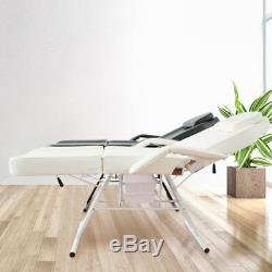 Heavy Duty Massage Bed Chair Beauty Salon Tattoo Therapy Table Couch Recliner UK