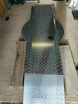 Heavy Duty Motorcycle Turn Table (Wide Fit) Garage / Showroom VGC RRP £1200+