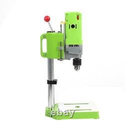 Heavy Duty Pillar Press Drill Bench Top Table Stand 710W Workbench 5 Speed UK