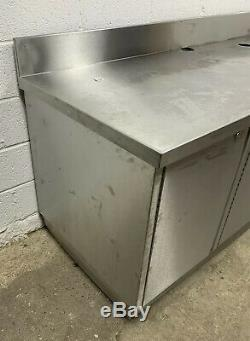 Heavy Duty Preparation Table Counter With Cupboards 2500 MM Wide £550 + Vat