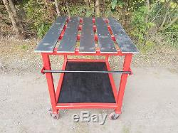 Heavy Duty Solid Welding Table Work Bench for the Fabricator
