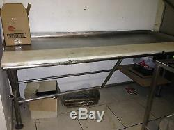 Heavy Duty Stainless Steel Butcher's Table