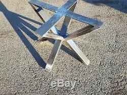 Heavy Duty Steel Table Legs Dining Bench Desk Coffee Leg Industrial feet, screws
