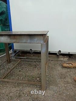 Heavy Duty Steel Workbench Welding Fabrication Table Bench 3'X4