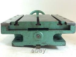 Heavy Duty Tee Slotted Compound Slide Milling Table 10¾ x 8