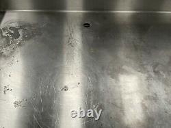 Heavy Duty stainless steel Single SinkPrep table storage Cupboard £400 + vat