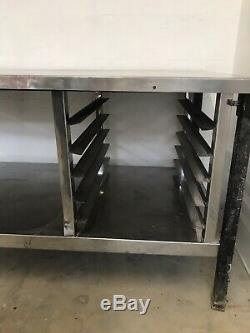 Heavy duty commercial stainless steel table/ work bench