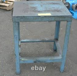 Heavy duty table machine plinth stand thick steel top 650 x 480 x 800 Adelaide