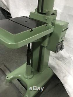 Herbert Heavy Duty Single Spindle Drill Rise & Fall Table