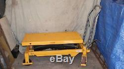 Hydraulic Lifting Table 750 Kg
