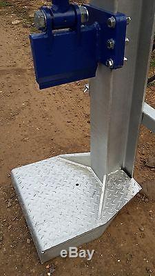 Hydraulic Log splitter 20,000kg 20 TON Heavy Duty JSA. 2K Paint With Table