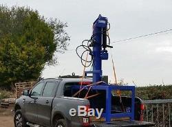Hydraulic Log splitter 20,000kg 20 TON Heavy Duty JSA. GALV With Table