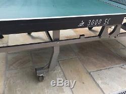 JOOLA 3000SC Heavy Duty Folding Professional Table Tennis Table ITTF