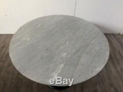 Job Lot 2 Heavy Duty Round Marble Tables Cafe Bistro Restaurant Pub Bar