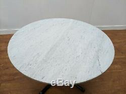 Job Lot 4 Heavy Duty White Marble Dining Tables Restaurant Bistro Pub Bar