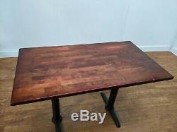 Job Lot 5 Heavy Duty Wooden Bistro Restaurant Dining Tables 1200x700mm Pub Bar