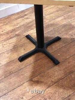 Job Lot 7 Heavy Duty Contract Quality Solid Wood Bistro Pub Bar Table 500mm