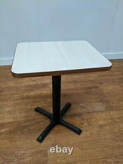 Job Lot 7 New Limed Oak Heavy Duty Premium Laminate Bistro Tables 600x500mm Cafe