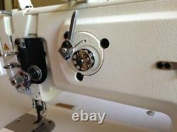 Juki Walking Foot Heavy Duty Industrial Sewing Machine Table and Servo Motor