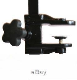 Large Z-Lift Hydraulic Pet Dog Grooming Bath Table Adjustable Arm Black