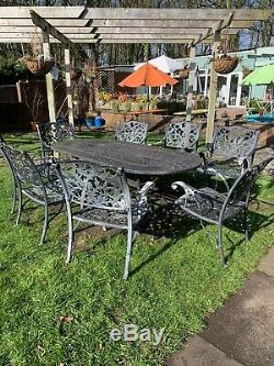 Luxury Heavy Dutie Metal Garden Set