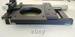 Microscope Manual 2-Axis XY Stage Toolmaker Table Heavy Duty with EXTRAS