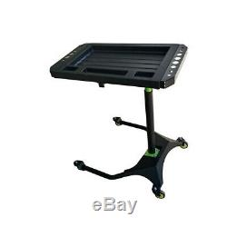 Mobile Under Bonnet Tool Trolley Heavy Duty Professional Adjustable Mobile Table