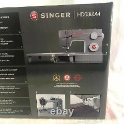 NEW Singer HD6380M Sewing Machine with Extension Table Heavy Duty Making The Cut