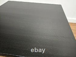New Job Lot 4 Heavy Duty Solid Ash Dining Tables 750mm Square Restaurant Bistro