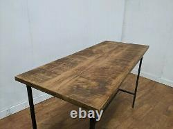 New Large Heavy Duty Bespoke Hand Crafted Industrial Poseur Table 1700x700mm