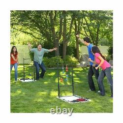 New Lifetime Game Table Combo Set Heavy Duty Cornhole Ladderball Outdoor 90466