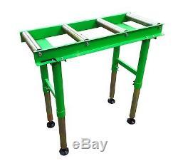 New WADKIN BURSGREEN 1 Metre Heavy Duty 4 Roller Table £150.00+Vat
