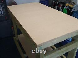 New Wooden Heavy Duty Work Bench/table/desk 3FT HAND MADEIN THE UK, 18mm MDF TOP