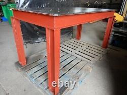 New heavy duty steel fixture workbench welding fabrication table