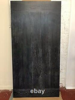 OFFER OFFER OFFER! Reclaimed Charcoal Straight Heavy Duty Oak Table Top 2m X 1m