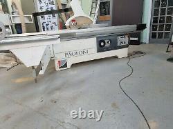 Paoloni P45 Heavy Duty 3200mm Sliding Table Panelsaw