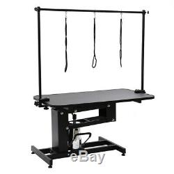 Parlour Hydraulic Pet Trimming Dog Grooming Table Z-lift Iron Stand Adjusted Arm