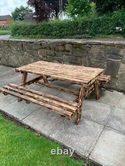Picnic Table Wooden Heavy Duty