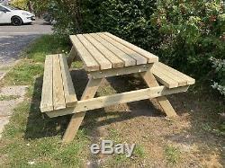 Picnic Table/pub Bench Heavy Duty