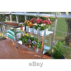 Potting Garden Table Garage Storage Workshop Heavy Duty Industrial Workbench S