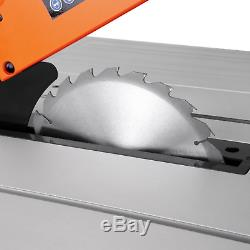 Powerful 1800W Extendable Table Saw Heavy Duty Electric Wood Cutting Machine New